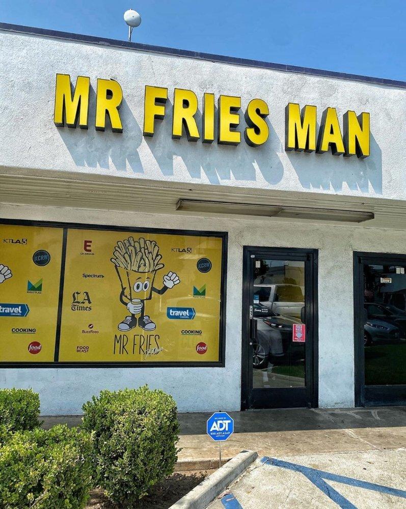 Mr Fries Man - Inglewood: 1120 W Florence Ave, Inglewood, CA