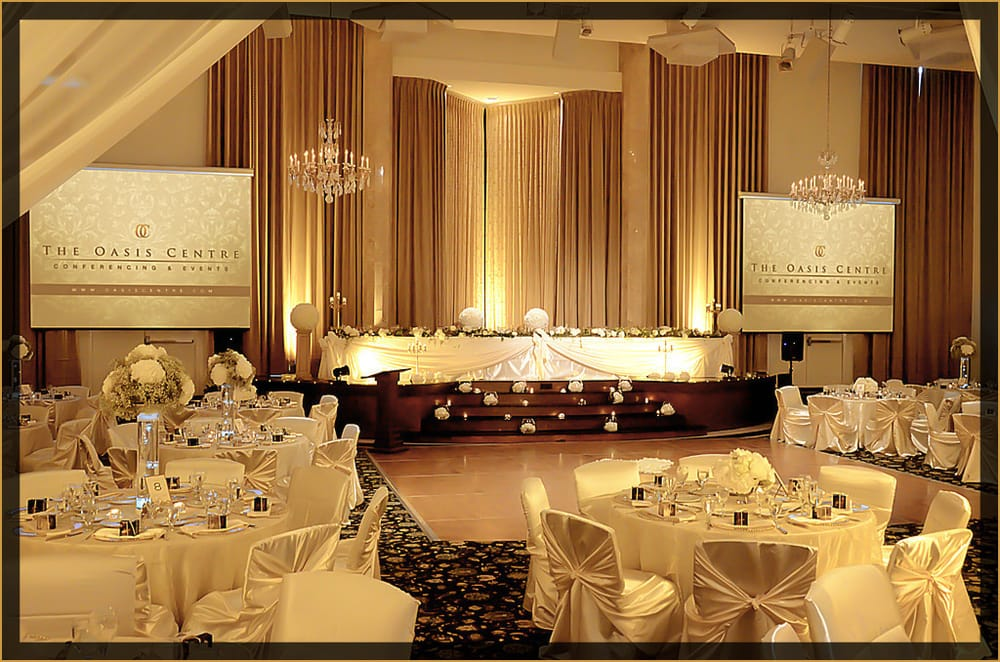 Oasis centre edmonton wedding decorations and reception layout in photo of the oasis centre corporate social event venue edmonton ab junglespirit Image collections