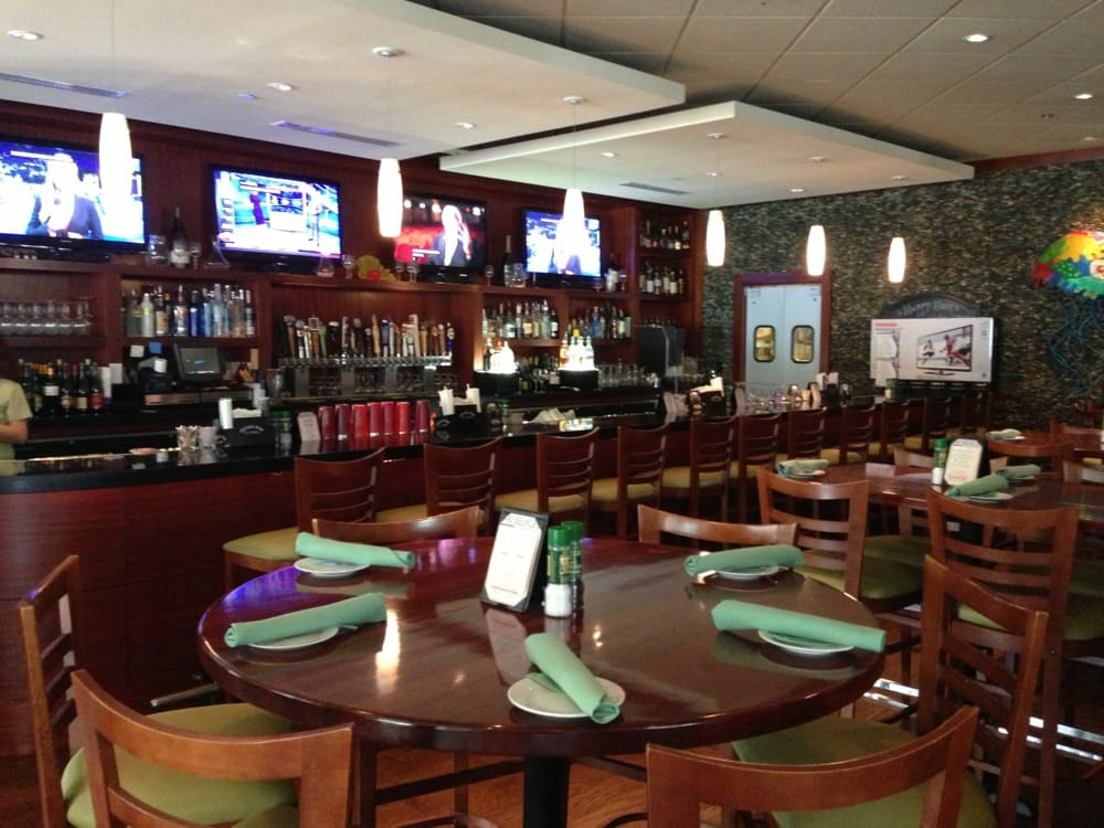 Flat screens for all football games. - Yelp