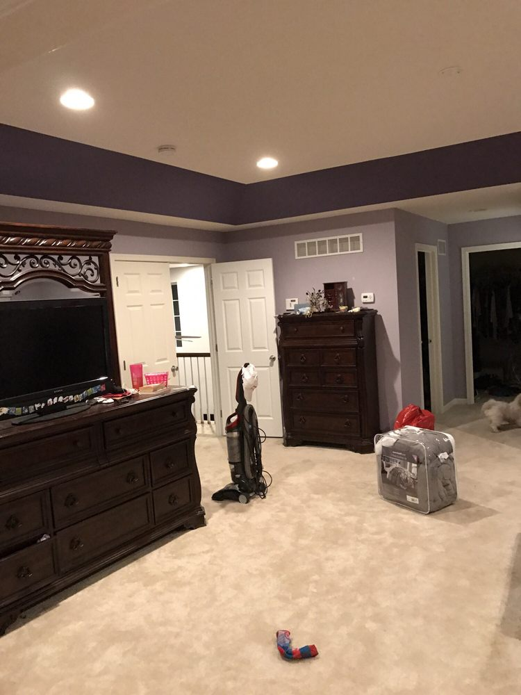 Photo Of Symphony Painting Philadelphia Pa United States Custom Home Interior Paint