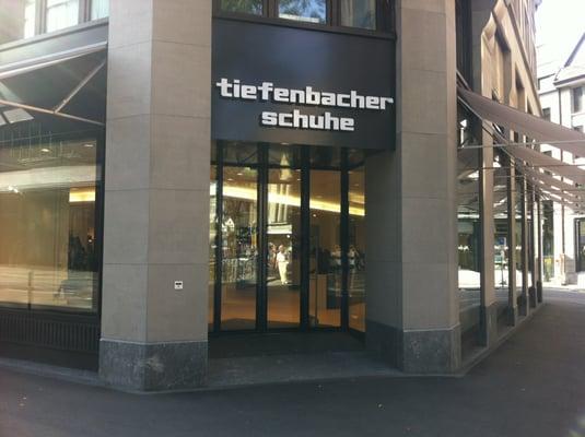 Tiefenbacher Schuhaus Shoe Stores Uraniastrasse 10 Kreis 1