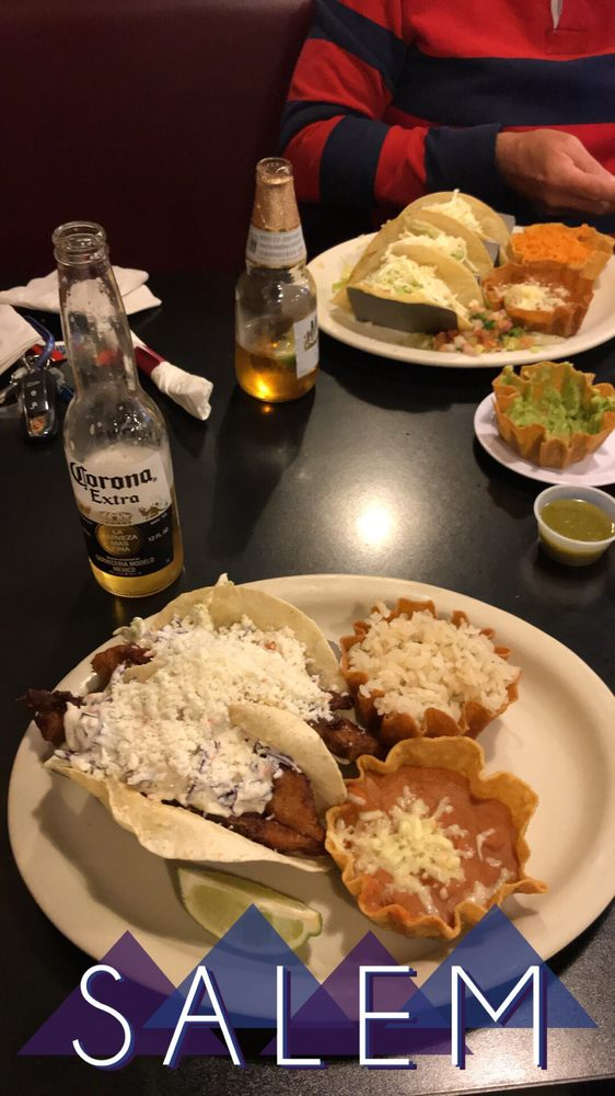 Food from Alejandro's Mexican Grill - Salem