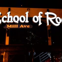 School of Rock Mill Ave is located at S. Mill Avenue in beautiful downtown Tempe. School of Rock Mill Ave was opened on September 10th, and is the best of both worlds; incorporating live performances from local artists to national bands as well as a .