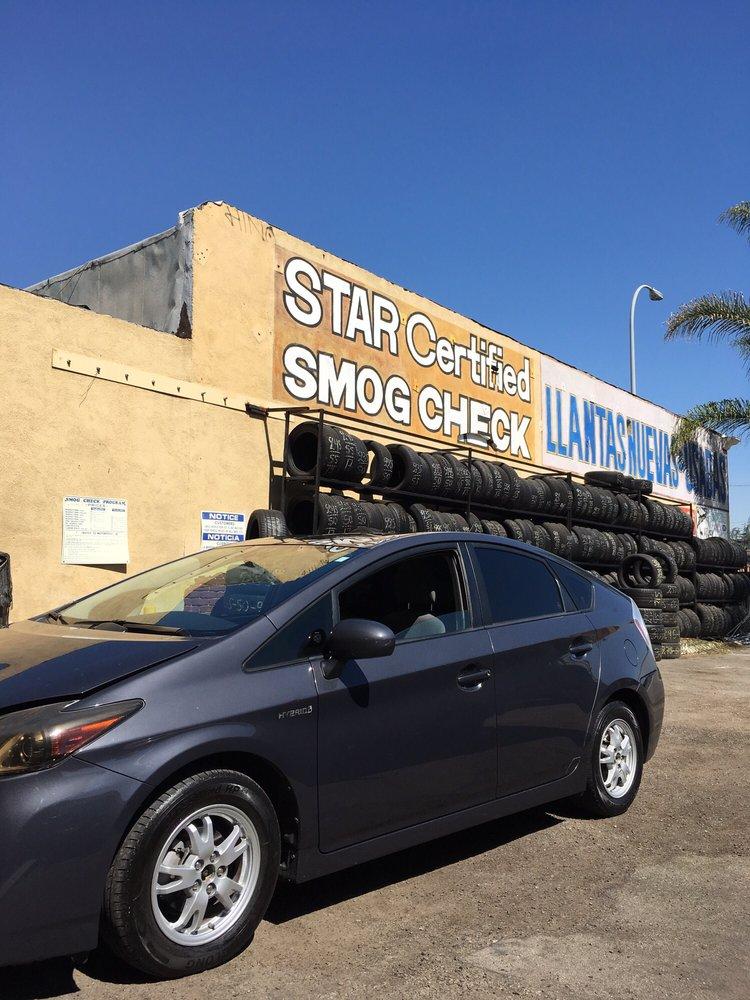 Smog Test Only Center: 3520 Slauson Ave, Maywood, CA