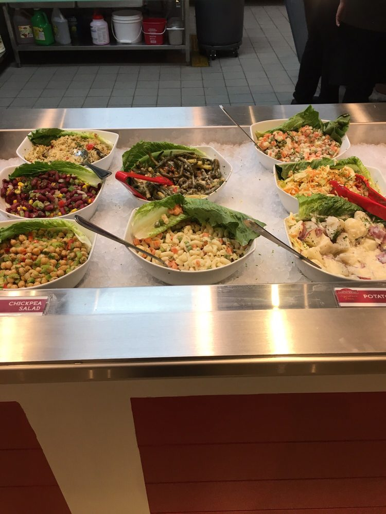 Some Of The Salads There Are Also Two Types Of Leafy Greens Yelp