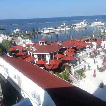Photo Of Boardwalk Cafe Chesapeake Beach Md United States Balcony View From