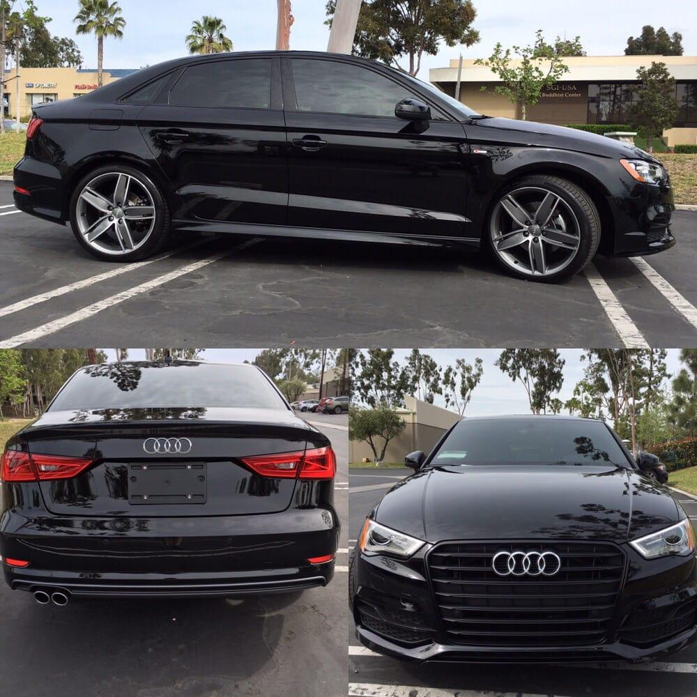 16 Audi A3 w/ One Film, Pinnacle Series Ceramic, Shade 15 ... Black Tinted Audi A on honda accord tinted, audi s5 tinted, audi a3 tinted, nissan altima tinted, jeep grand cherokee tinted, audi a4 avant tinted,