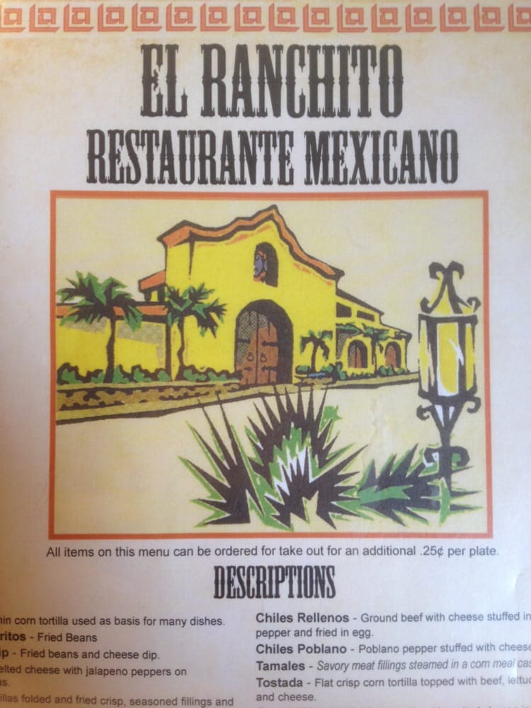 El Ranchito Restaurant Albemarle Nc