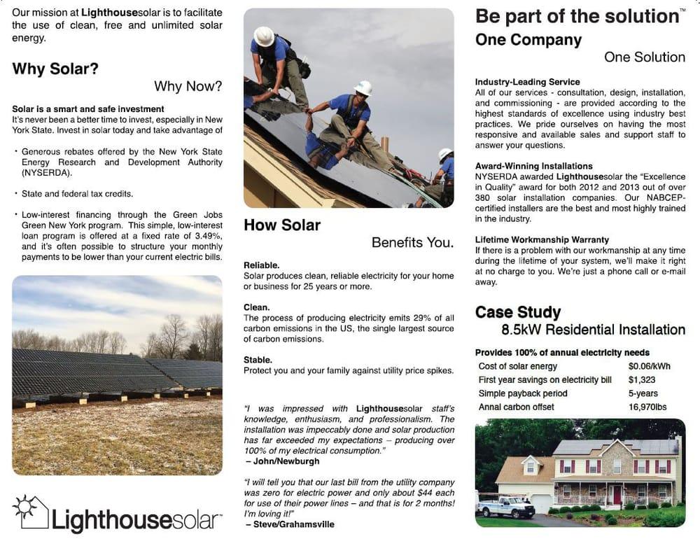 Photo Of Lighthouse Solar New Paltz Ny United States