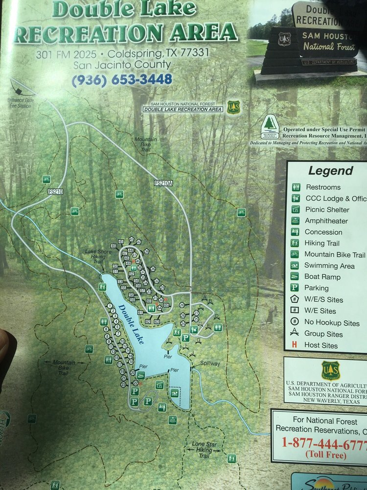 Double Lake Recreation Area: 301 Fm 2025, Coldspring, TX