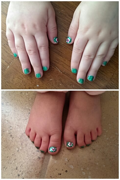 My granddaughter\'s hands and toes...pretty girl! - Yelp