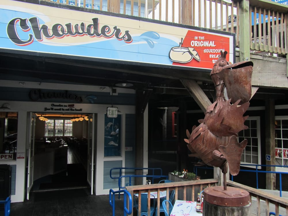 Chowders 739 photos 689 reviews seafood pier 39 for Fishing store san francisco