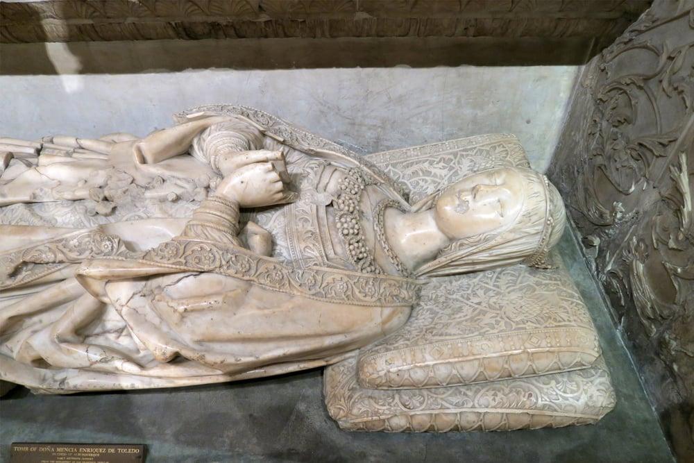 Tomb of dona mencia enriquez de toledo duchess of - Fotos de dona mencia ...