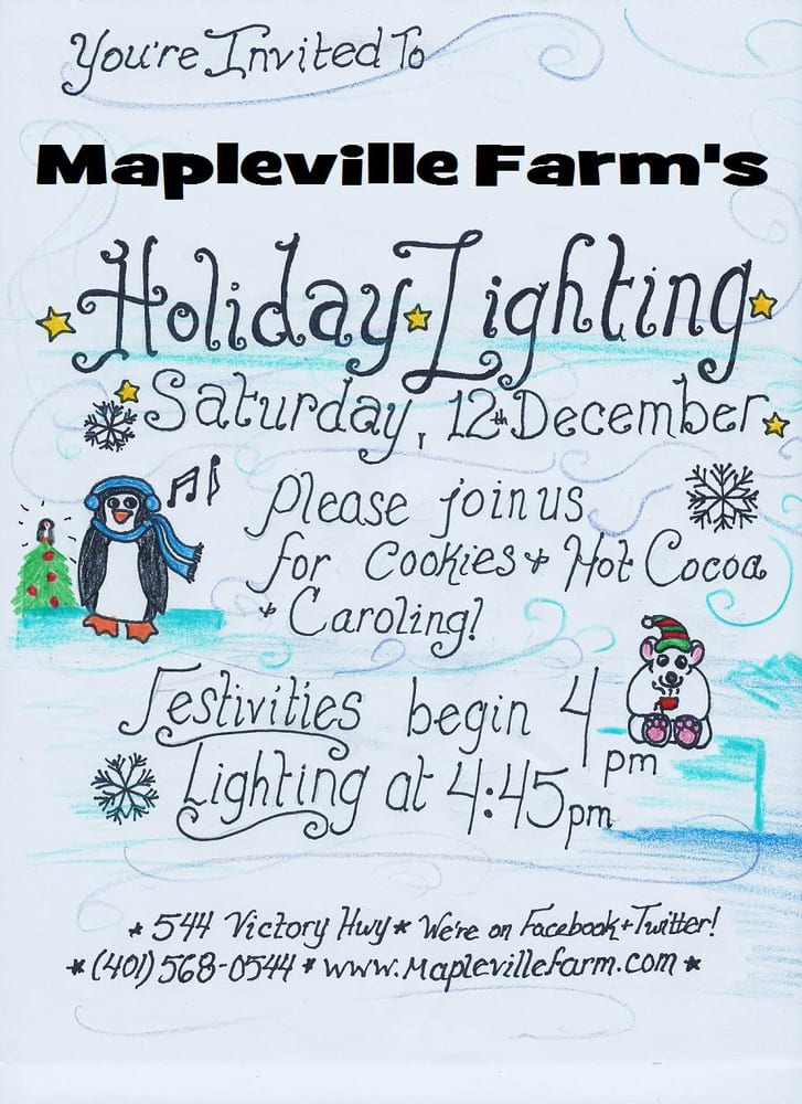 Mapleville Farm: 544 Victory Hwy, Mapleville, RI