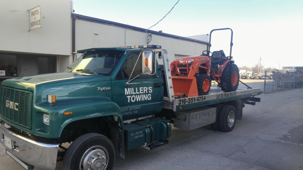 Millers Towing And Recovery: 817 W 1st St N, Wichita, KS
