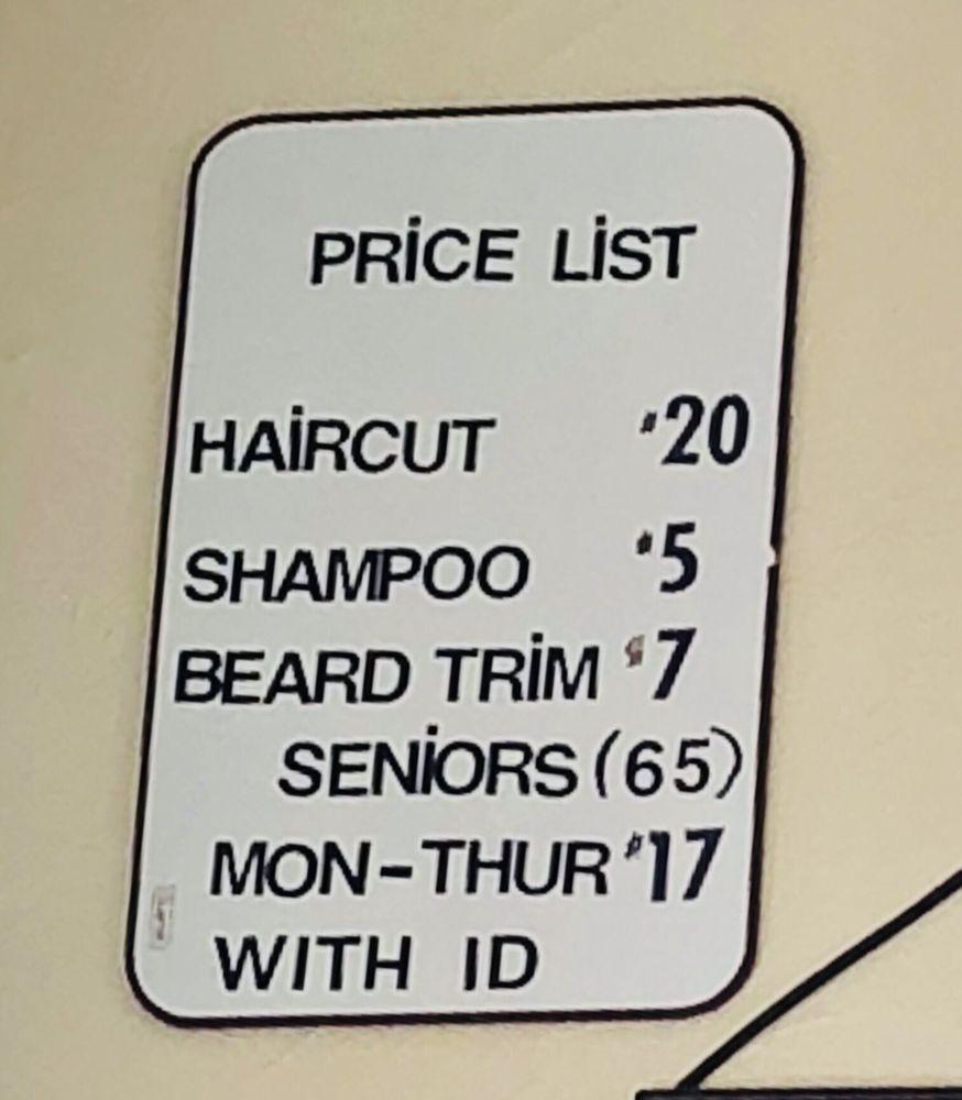 Frontier Barber Shop 61 Reviews Barbers 438 Hartz Ave
