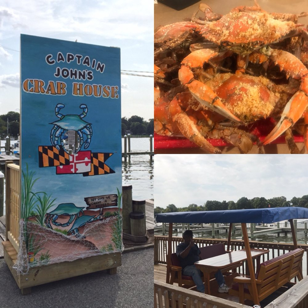Captain John's Crabhouse: 16215 Cobb Island Rd, Newburg, MD