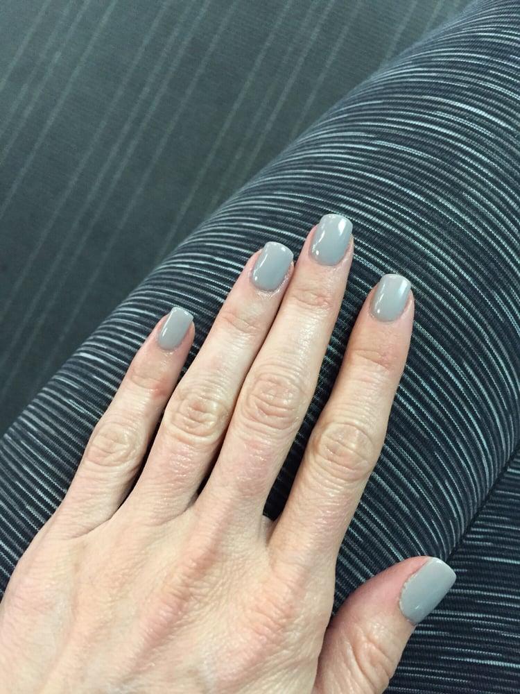 Organic SNA powder dip manicure - Yelp