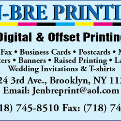 Jen bre printing printing services 8024 3rd ave bay ridge photo of jen bre printing brooklyn ny united states reheart Image collections