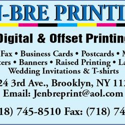 Jen bre printing printing services 8024 3rd ave bay ridge photo of jen bre printing brooklyn ny united states reheart Gallery