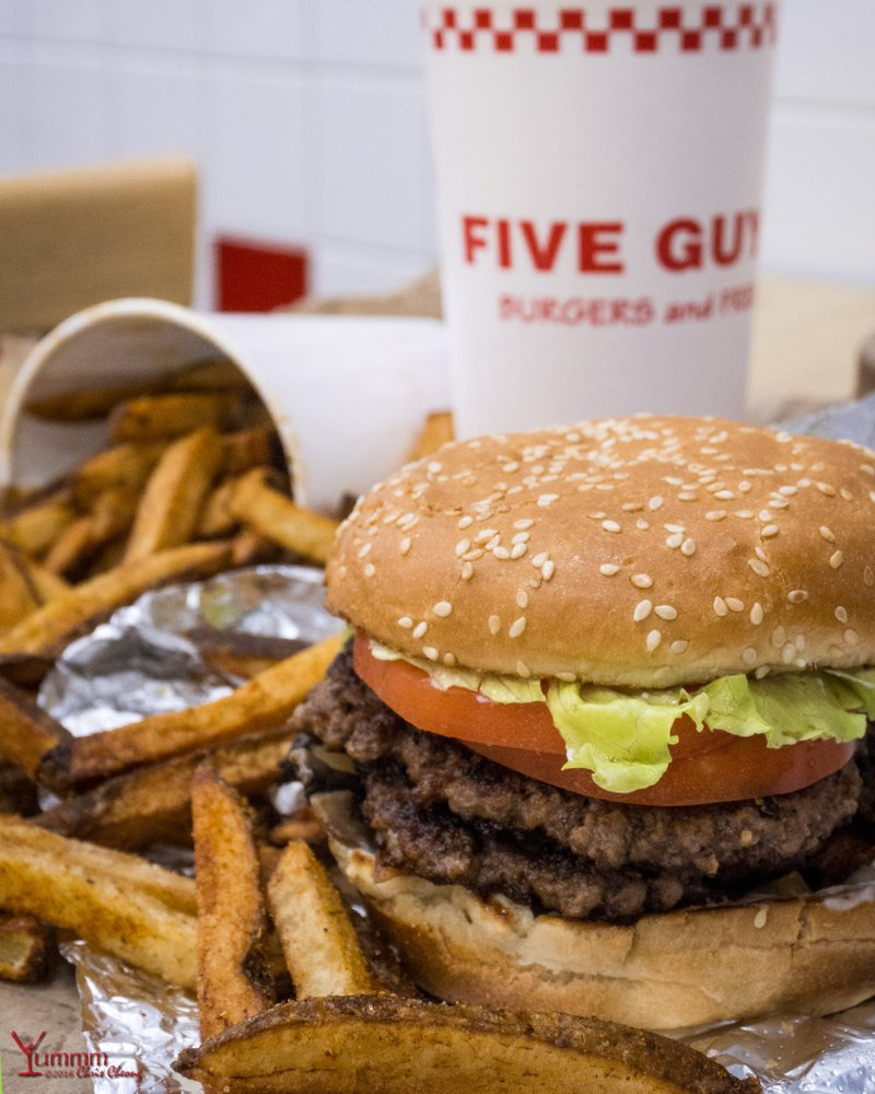 an analysis of five guys burgers Five guysburgers and friesrobin askinserika browning  an outline  of a project for hbm358 with menu breakdown and analysis.
