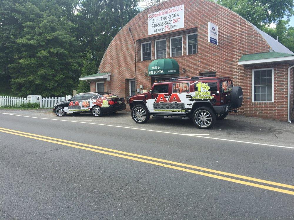 AA Dependable Bail Bonds: 14514 Main St, Upper Marlboro, MD