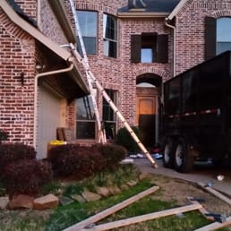 Billede af Paul Davis - Plano, TX, USA. Roof damage from hail and wind ...