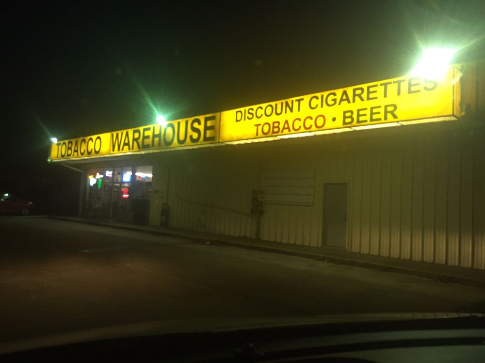 Tobacco Warehouse: 147 Texas Hwy, Many, LA