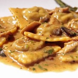 Ravioli Rustici...One of our favorites! Braised short rib ...