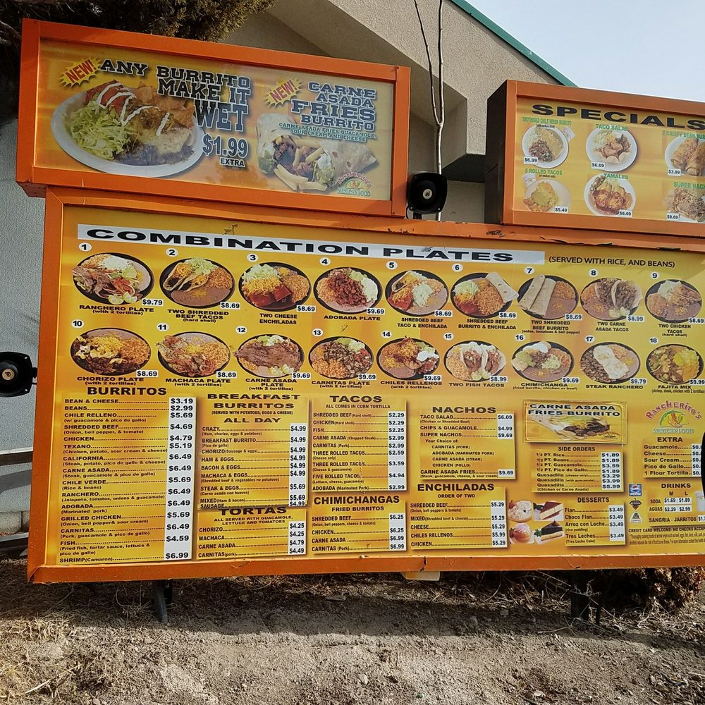 Rancherito S Mexican Food 16 Beitr 228 Ge Mexikanisch