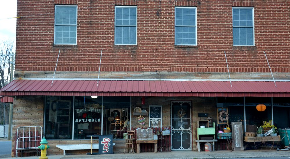 Rose Mill Antiques: 21 E Main St, Maiden, NC