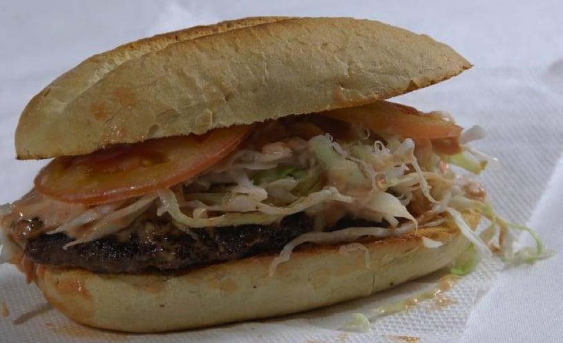 chimichurridominican burger soooo good yelp