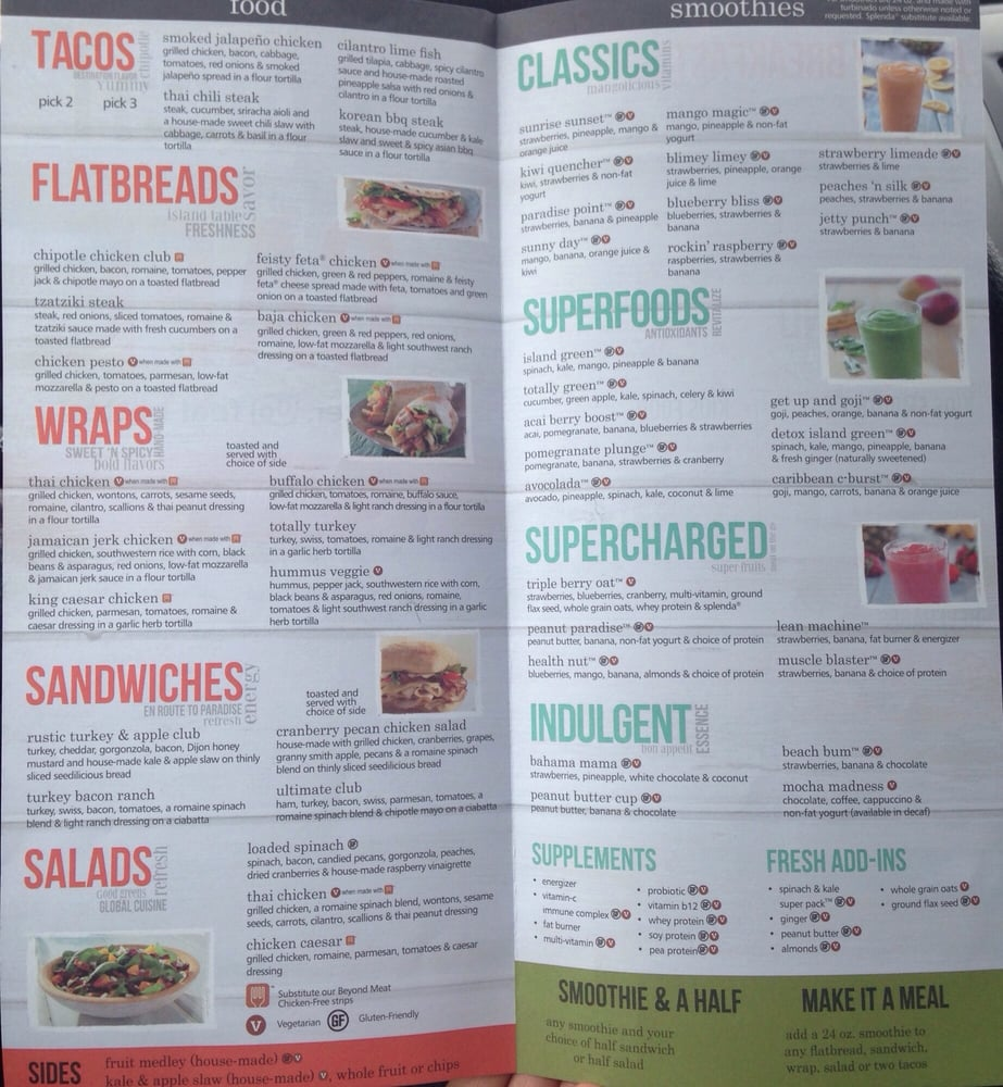 Tropical Smoothie Cafe - 50 Photos & 56 Reviews - Juice Bars ...