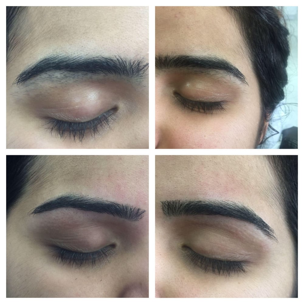 Example Of Our Clean Up And Shape To Reveal Natural Eyebrows Yelp