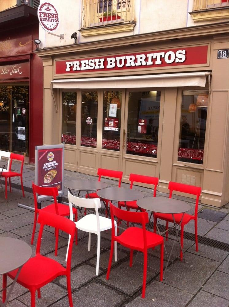 Fresh burritos mexikanisch 18 rue du pr bott rennes for Restaurant o 23 rennes
