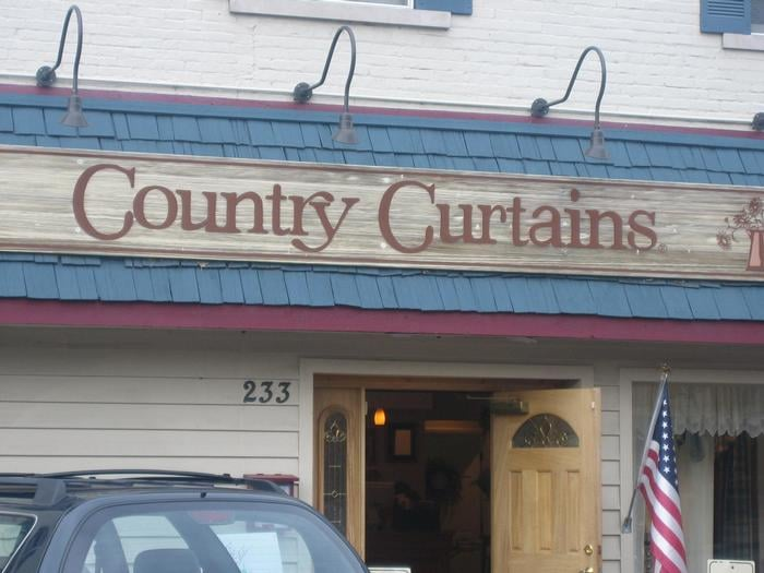 Country Drapes And Curtains - Rooms