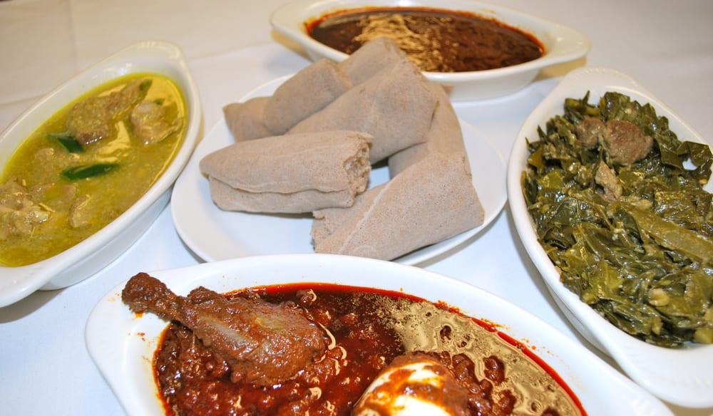 Alecha wet sega wet gomen besiga and doro wet yelp for Abol ethiopian cuisine silver spring md