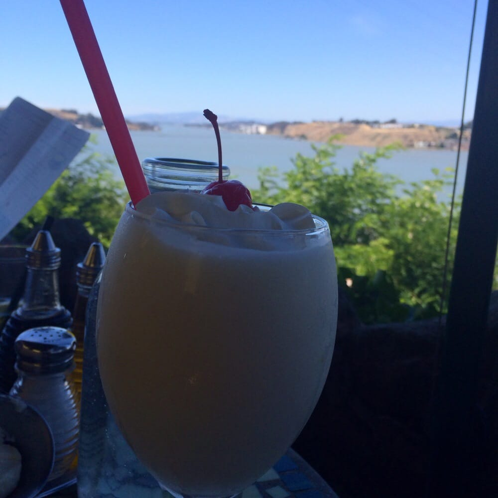 A refreshing colada made me smile yelp for The dead fish crockett