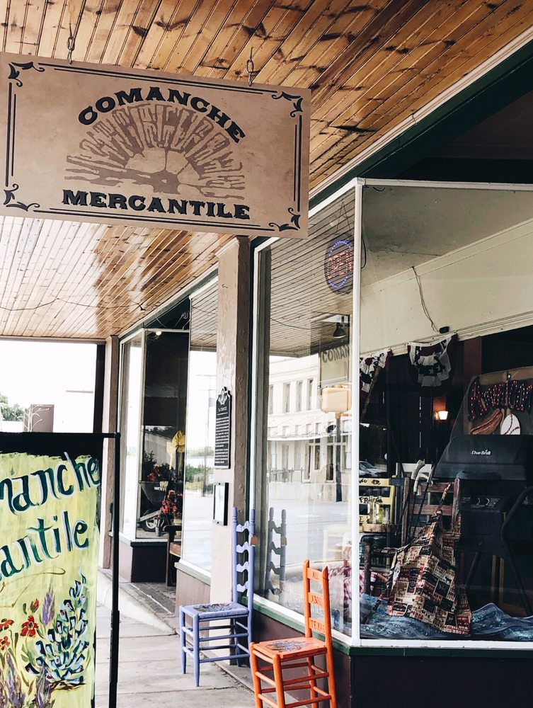 Comanche Mercantile: 101 N Houston St, Comanche, TX