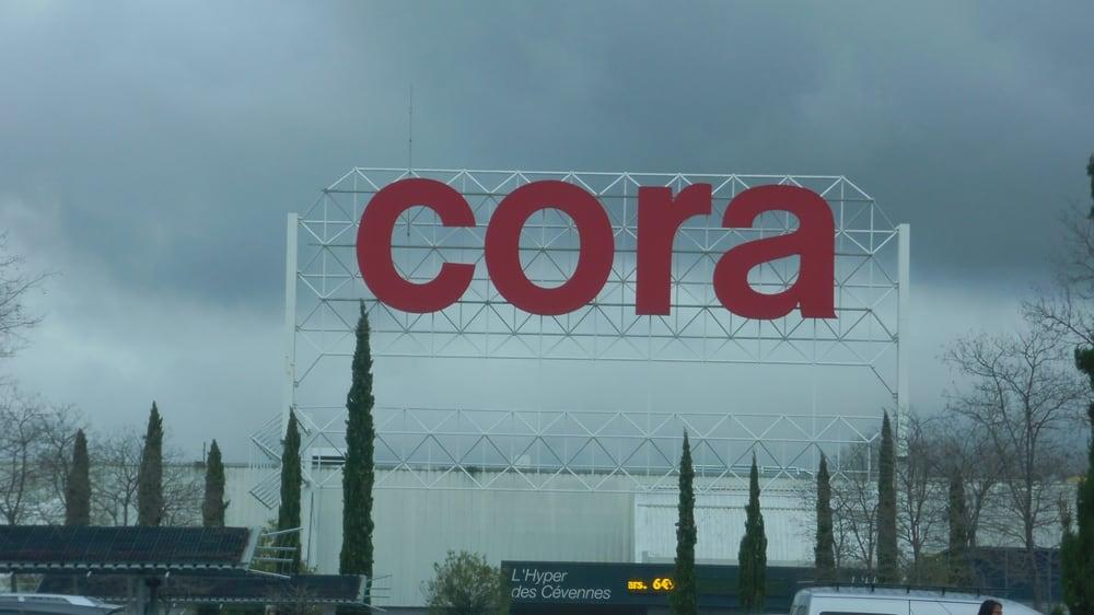 Cora - Grands magasins - Quai Mas d Hours, Alès, Gard - Numéro de ... 3d22524d99cc
