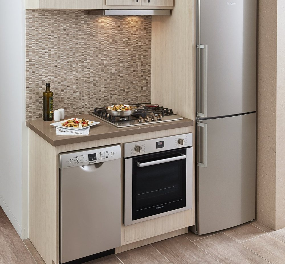 BOSCH Apartment Size Appliances For Those Hard To Fit