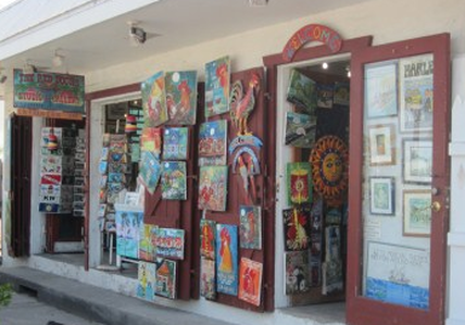 Artists Gallery At the Red Door: 812 Caroline St, Key West, FL