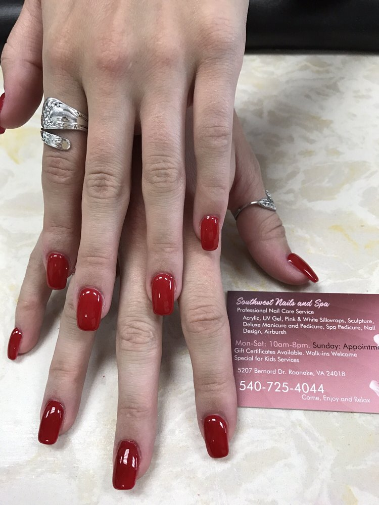 Southwest Nails: 5207 Bernard Dr, Roanoke, VA