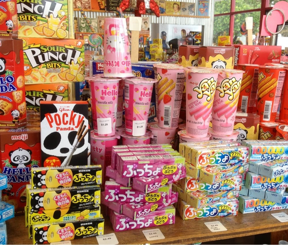 how to write candy in japanese