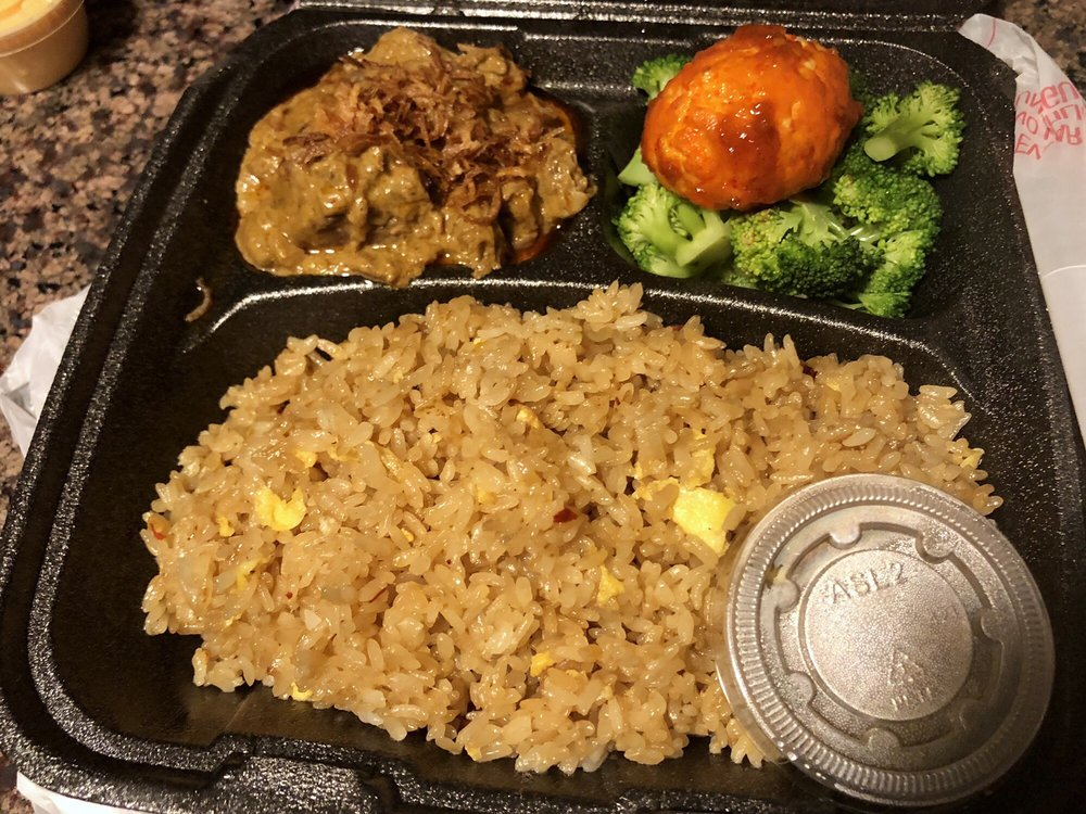 Food from Fried Rice Hibachi 2 Go
