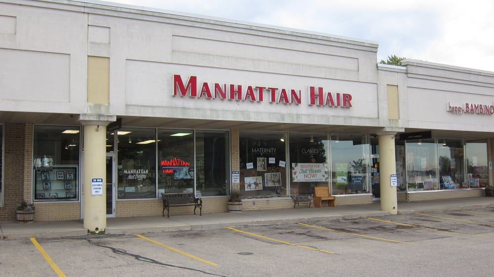 Manhattan hair designs coiffeurs salons de coiffure for 007 salon madison wi