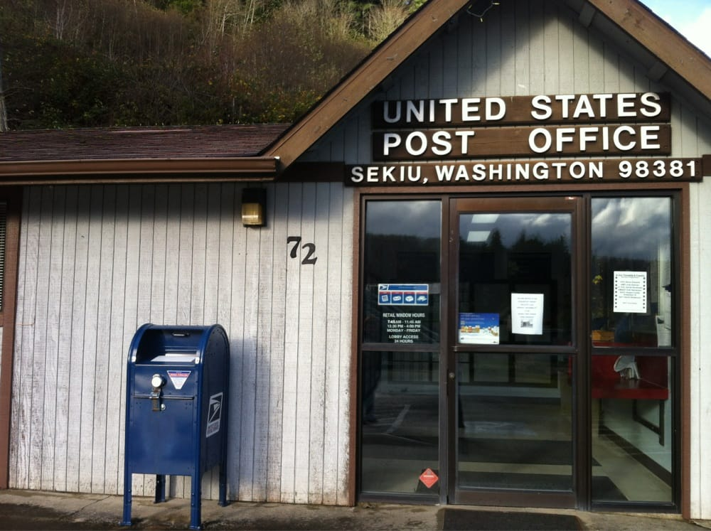 Us post office post offices 72 washington st sekiu - United states post office phone number ...