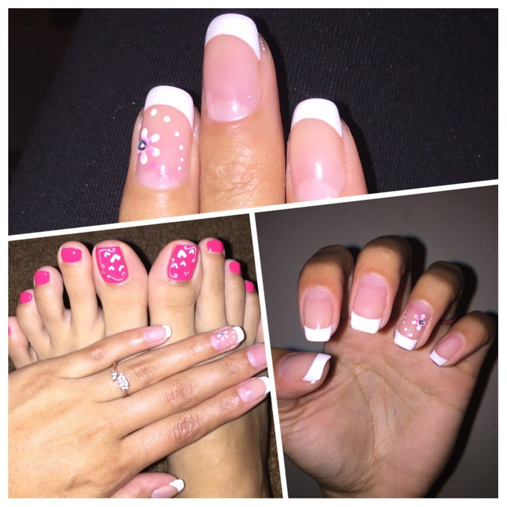 thanks for doing a fantastic gel manicure/pedicure treatment on me ...