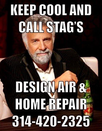 Stag's Design Air & Home Repair: Cedar Hill, MO
