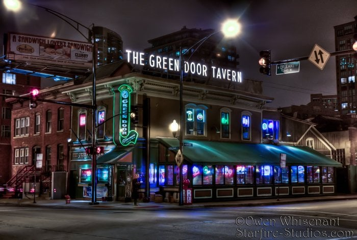 Green Door Tavern: 678 N Orleans St, Chicago, IL